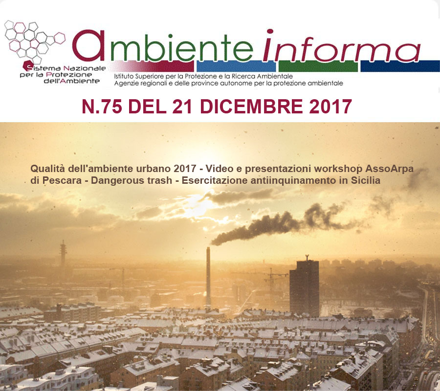 Cover newsletter ARPA dicembre 2017
