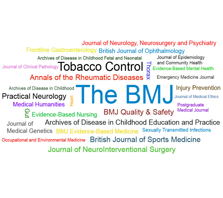 Cover Notizia News BMJ Journals