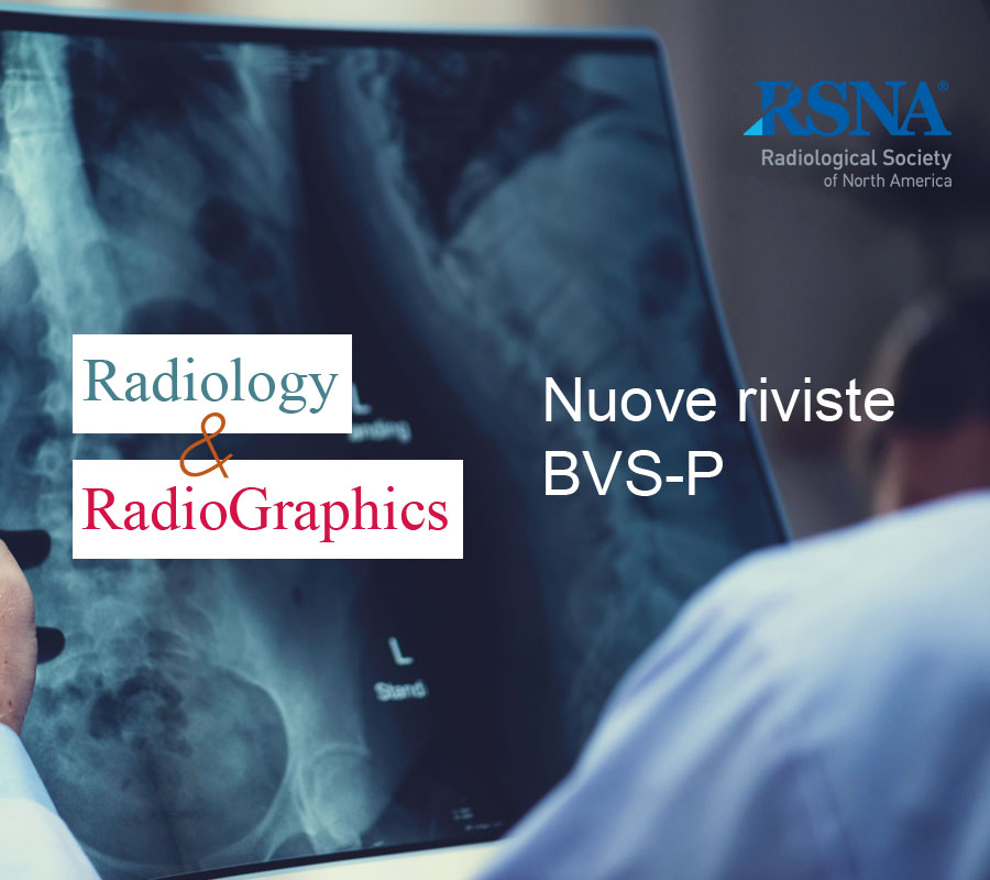 Cover Notizia Radiology and RadioGraphics