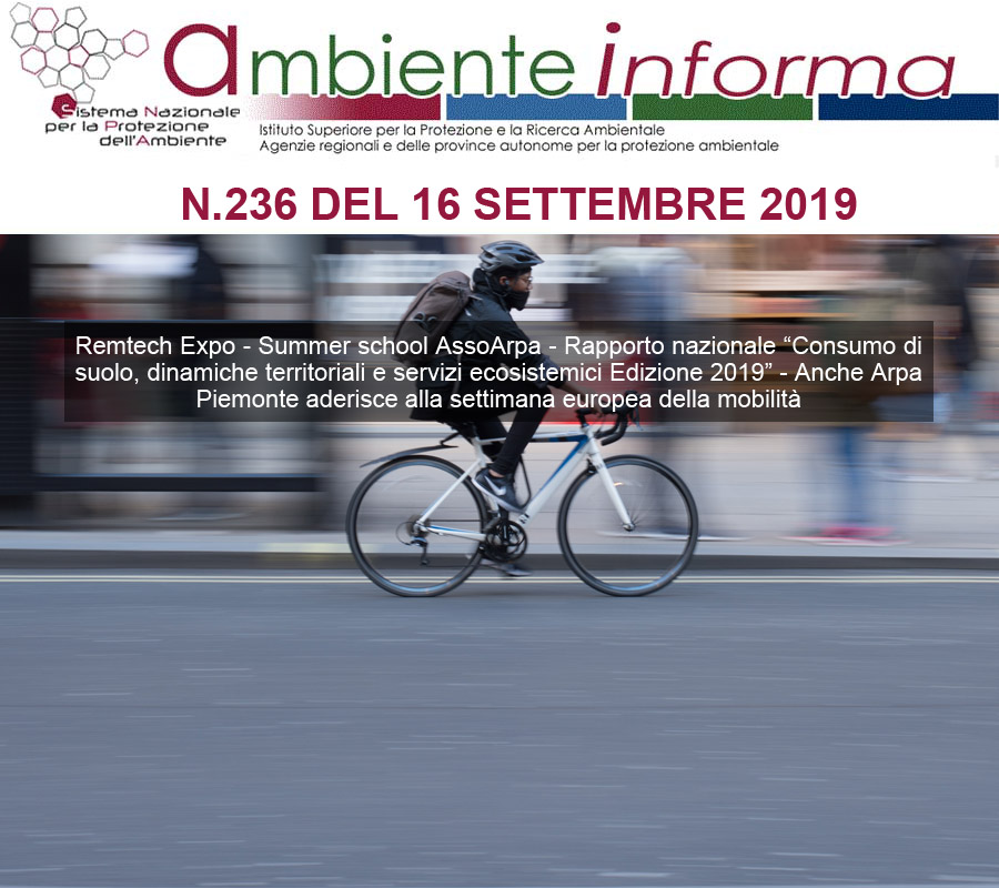 Cover Newsletter ARPA settembre 2019