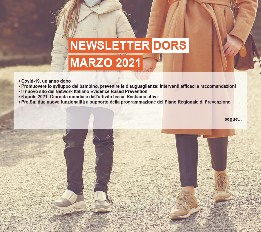 Cover Newsletter Dors marzo 2021